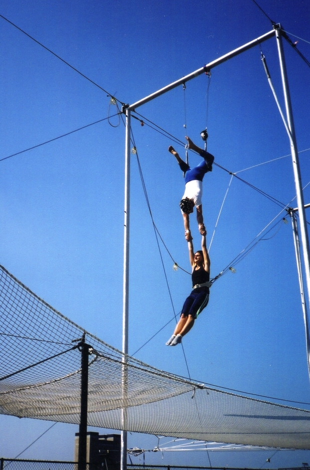 NYC School of Trapeze 2002